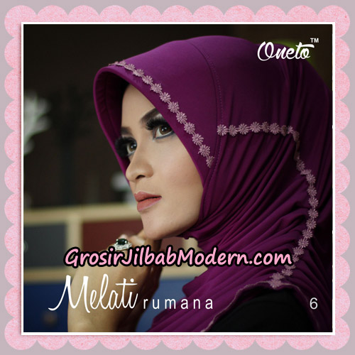 Jilbab Rumana Melati Original By Oneto Hijab Brand No 6