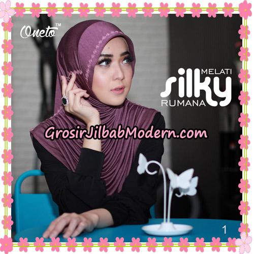 Jilbab Rumana Silky Melati Original By Oneto Hijab Brand No 1
