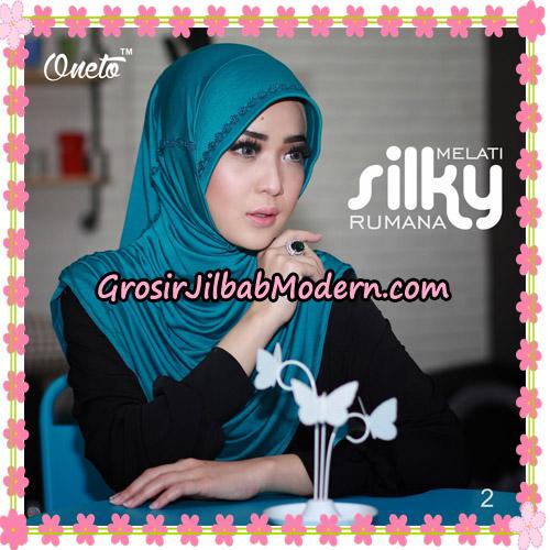 Jilbab Rumana Silky Melati Original By Oneto Hijab Brand No 2