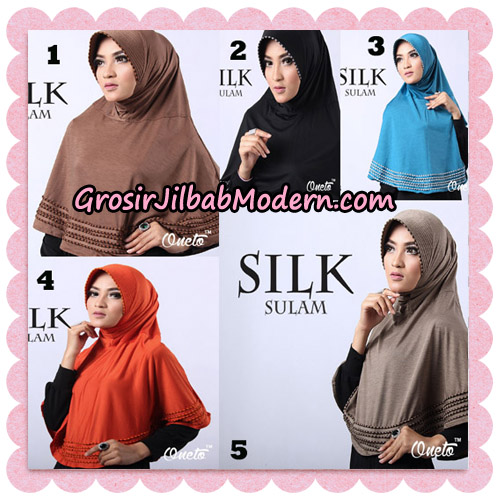 Jilbab Silk Sulam Original By Oneto Hijab Brand