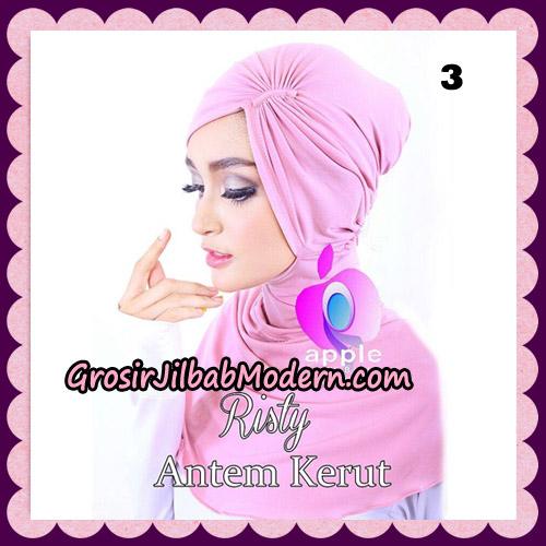 Inner Ninja Risty Antem Kerut Original By Apple Hijab Brand No 3