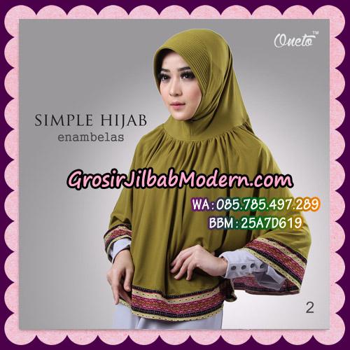 Jilbab Bergo Instant Simple Hijab Seri 16 By Firza Hijab Support Oneto No 2