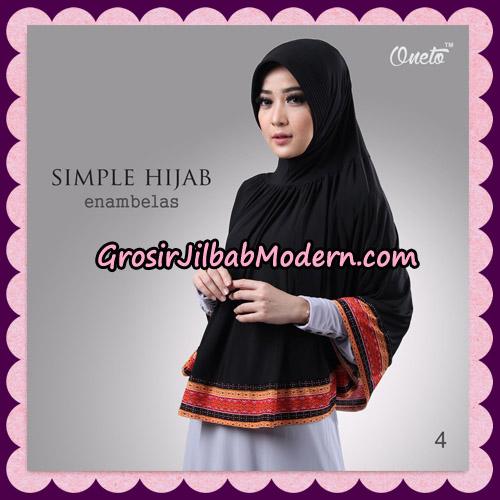 Jilbab Bergo Instant Simple Hijab Seri 16 By Firza Hijab Support Oneto No 4