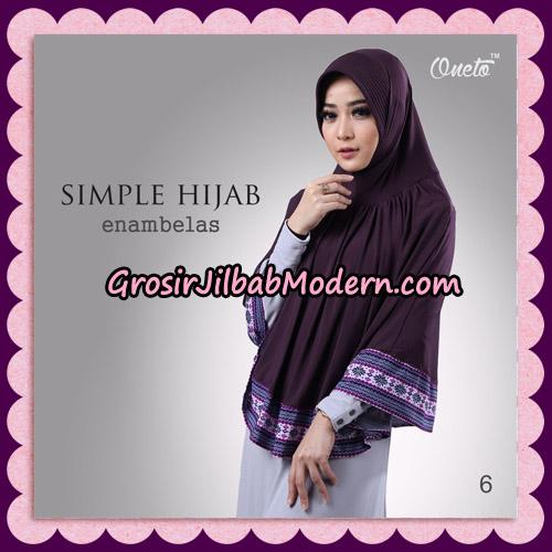 Jilbab Bergo Instant Simple Hijab Seri 16 By Firza Hijab Support Oneto No 6