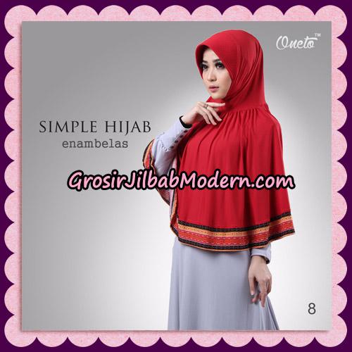 Jilbab Bergo Instant Simple Hijab Seri 16 By Firza Hijab Support Oneto No 8