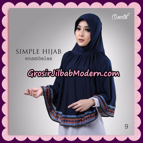 Jilbab Bergo Instant Simple Hijab Seri 16 By Firza Hijab Support Oneto No 9