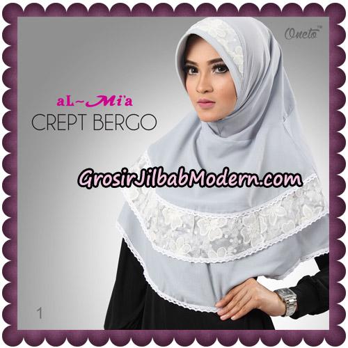 Jilbab Crept Bergo Cantik Original By Almia Brand No 1