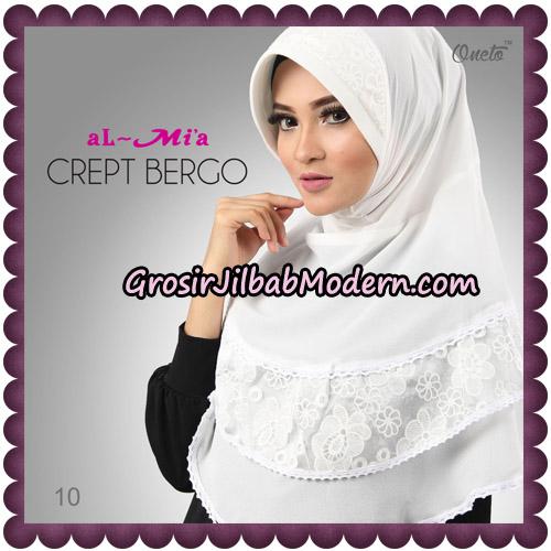 Jilbab Crept Bergo Cantik Original By Almia Brand No 10