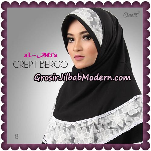Jilbab Crept Bergo Cantik Original By Almia Brand No 8