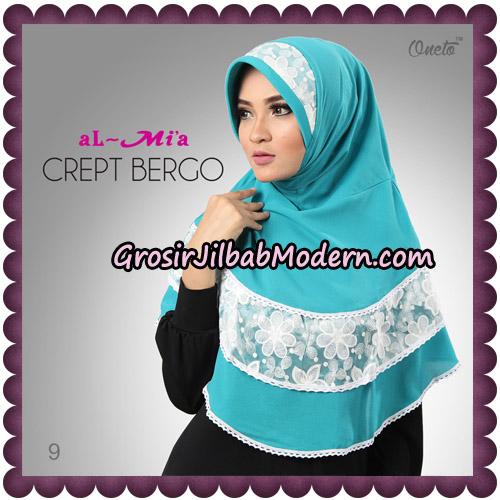 Jilbab Crept Bergo Cantik Original By Almia Brand No 9