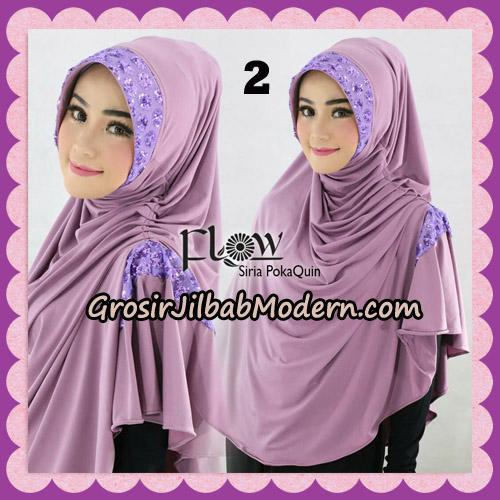 Jilbab Instant Cantik Syria Pet PolkaQuin Original By Flow Idea No 2