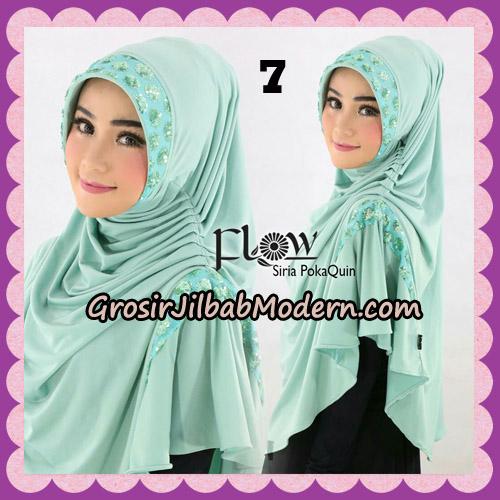 Jilbab Instant Cantik Syria Pet PolkaQuin Original By Flow Idea No 7