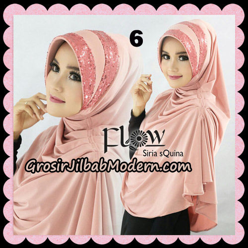 Jilbab Instant Syria Pet Syari sQuina Original By Flow Idea No 6