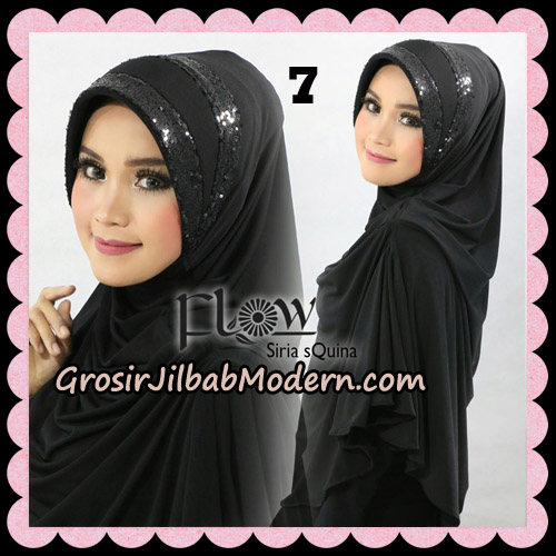 Jilbab Instant Syria Pet Syari sQuina Original By Flow Idea No 7