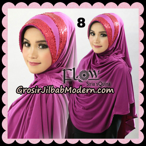 Jilbab Instant Syria Pet Syari sQuina Original By Flow Idea No 8