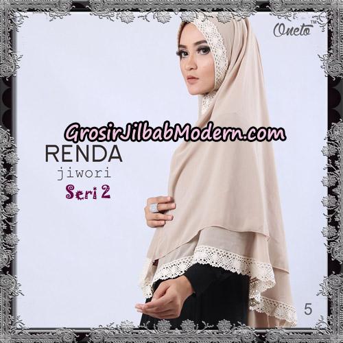 Jilbab Khimar Cerutti Jiwori Renda Seri 2 Original By Dhea Brand No 5