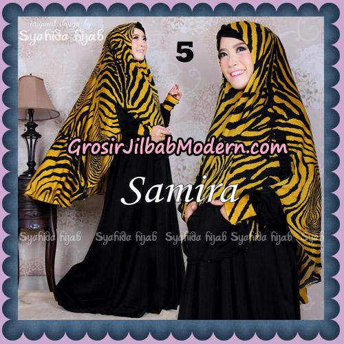 Setelan Gamis Syari Samira Original By Syahida Brand No 5