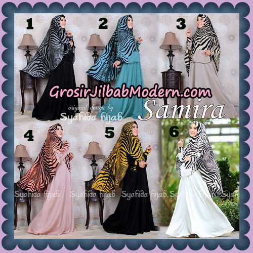 Setelan Gamis Syari Samira Original By Syahida Brand