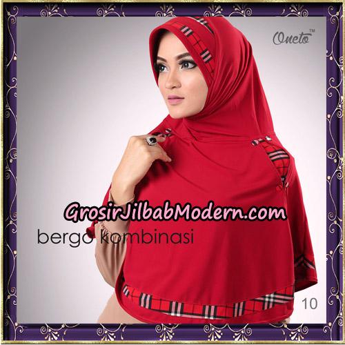 Hijab Bergo Kombinasi Original By Oneto Hijab Brand No 10
