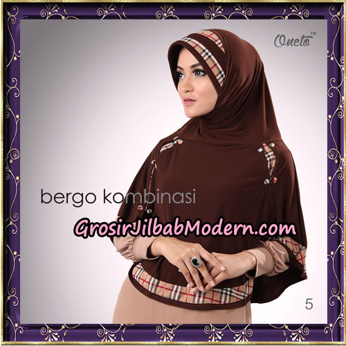 Hijab Bergo Kombinasi Original By Oneto Hijab Brand No 5
