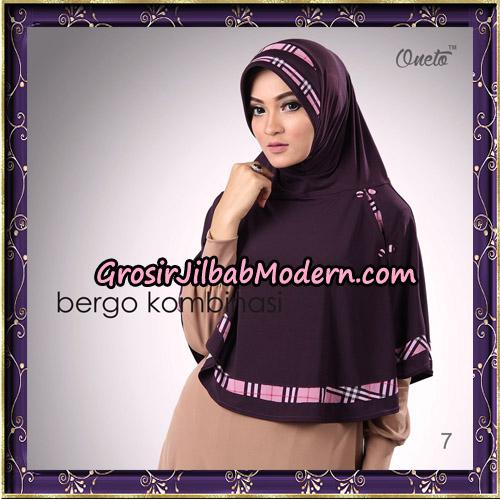 Hijab Bergo Kombinasi Original By Oneto Hijab Brand No 7