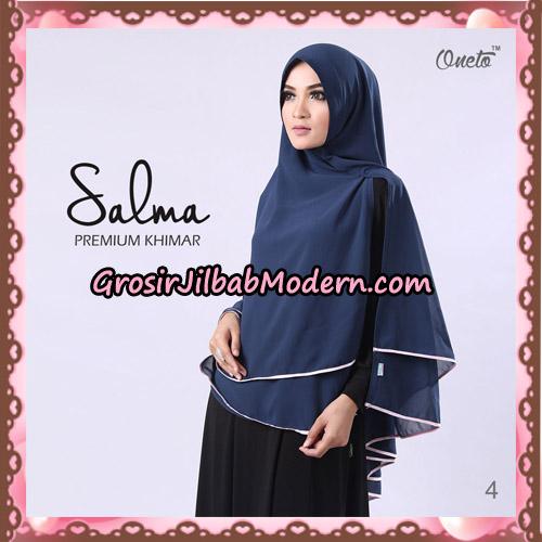 Hijab Syari Khimar Salma Premium Original By Rizky Ananda No 4