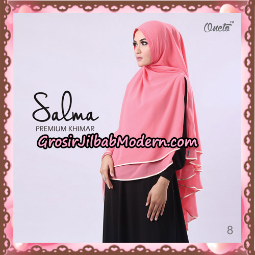 Hijab Syari Khimar Salma Premium Original By Rizky Ananda No 8