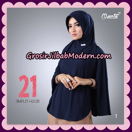 Jilbab Instant Bergo Simple Hijab Seri 21 By Firza Hijab Support Oneto No 1