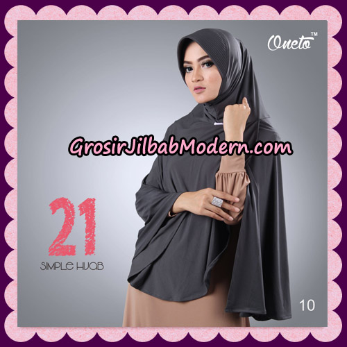 Jilbab Instant Bergo Simple Hijab Seri 21 By Firza Hijab Support Oneto No 10