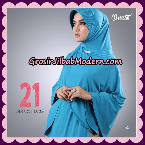 Jilbab Instant Bergo Simple Hijab Seri 21 By Firza Hijab Support Oneto No 4