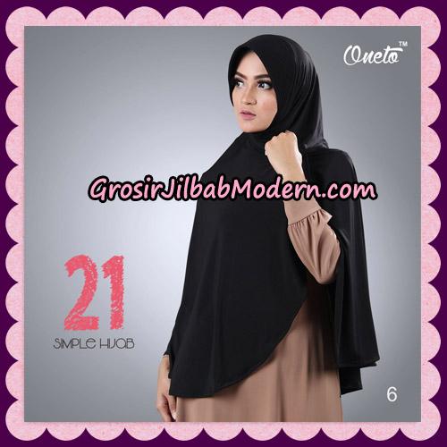Jilbab Instant Bergo Simple Hijab Seri 21 By Firza Hijab Support Oneto No 6