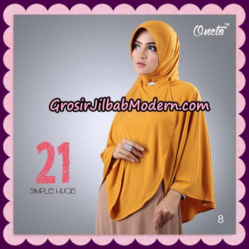 Jilbab Instant Bergo Simple Hijab Seri 21 By Firza Hijab Support Oneto No 8