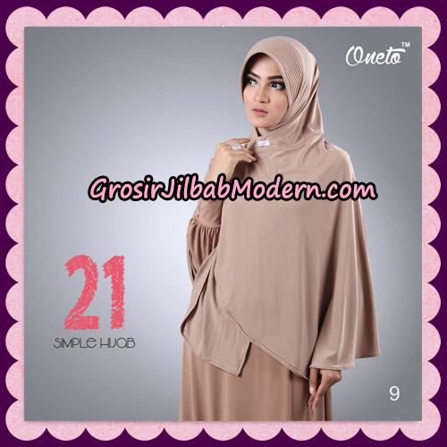 Jilbab Instant Bergo Simple Hijab Seri 21 By Firza Hijab Support Oneto No 9