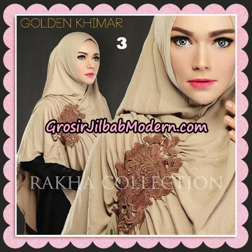Jilbab Instant Golden Khimar Original By Rakha Hijab Brand No 3