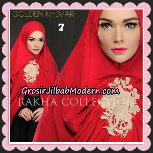 Jilbab Instant Golden Khimar Original By Rakha Hijab Brand No 7