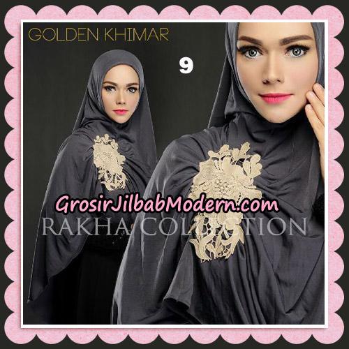 Jilbab Instant Golden Khimar Original By Rakha Hijab Brand No 9