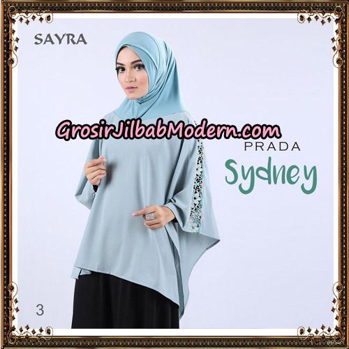 Jilbab Instant Prada Sydney Original By Sayra Hijab Brand No 3