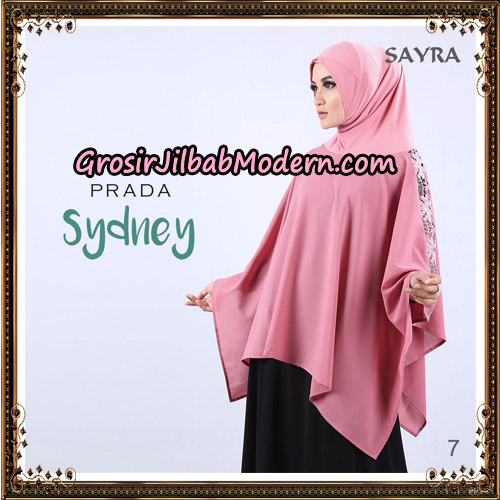 Jilbab Instant Prada Sydney Original By Sayra Hijab Brand No 7