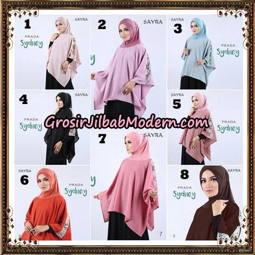 Jilbab Instant Prada Sydney Original By Sayra Hijab Brand