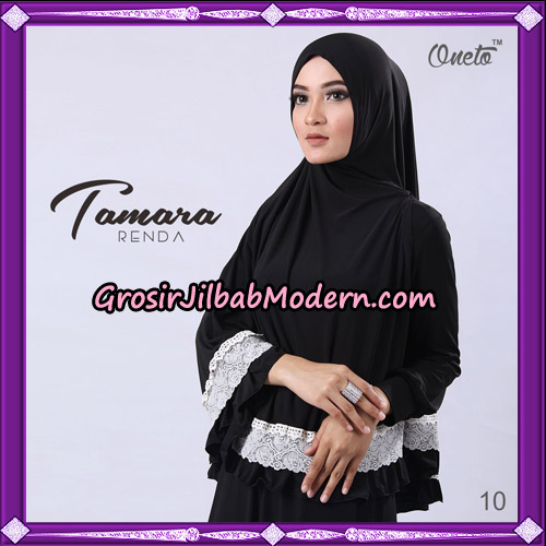 Jilbab Khimar Syari Tamara Renda Support Oneto Hijab No 10