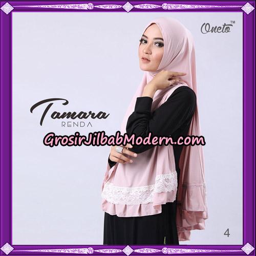 Jilbab Khimar Syari Tamara Renda Support Oneto Hijab No 4