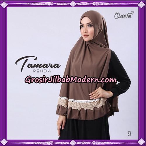 Jilbab Khimar Syari Tamara Renda Support Oneto Hijab No 9