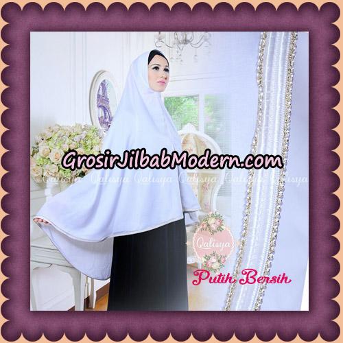Jilbab Khimar Umroh Exclusive Original by Qalisya Hijab Brand - Putih