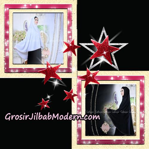 Jilbab Khimar Umroh Exclusive Original by Qalisya Hijab Brand