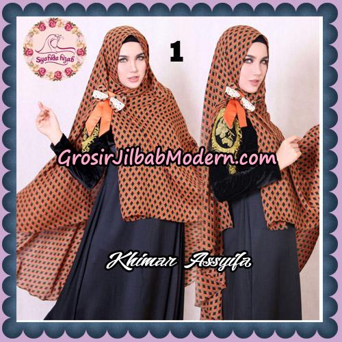 Jilbab Syari Khimar Assyifa Original By Syahida Brand No 1