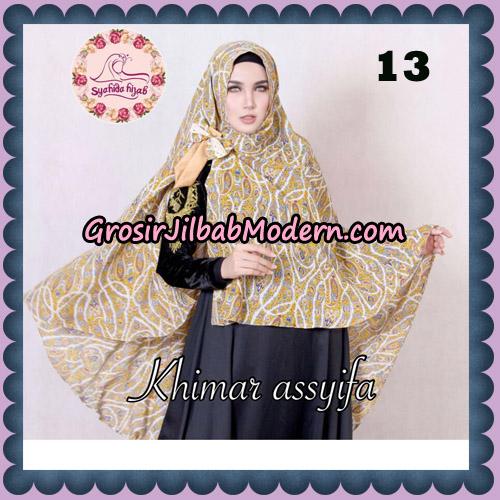 Jilbab Syari Khimar Assyifa Original By Syahida Brand No 13