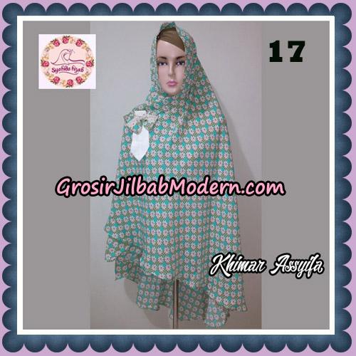 Jilbab Syari Khimar Assyifa Original By Syahida Brand No 17