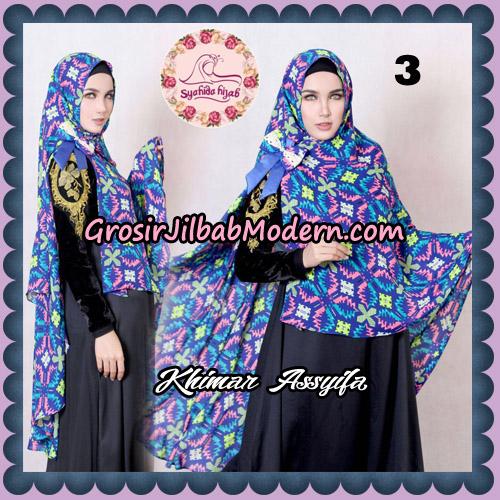Jilbab Syari Khimar Assyifa Original By Syahida Brand No 3