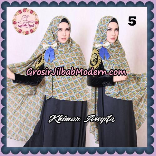 Jilbab Syari Khimar Assyifa Original By Syahida Brand No 5