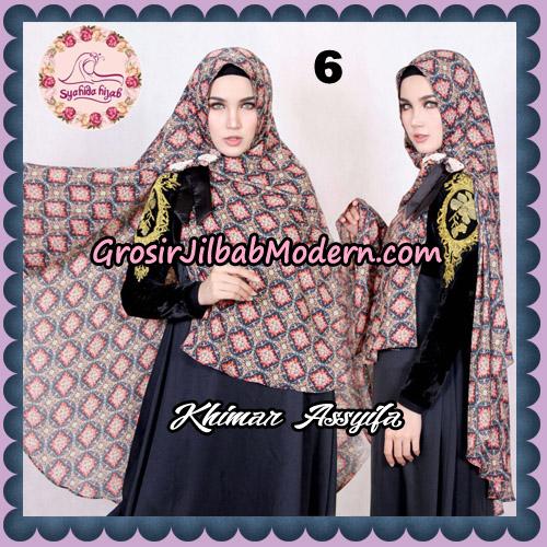 Jilbab Syari Khimar Assyifa Original By Syahida Brand No 6